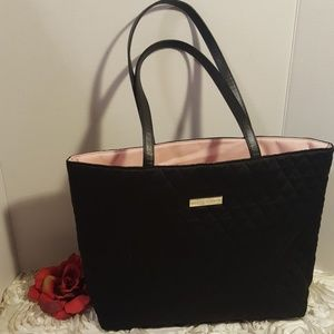 Ralph Lauren Purse Satchel Black / Pink